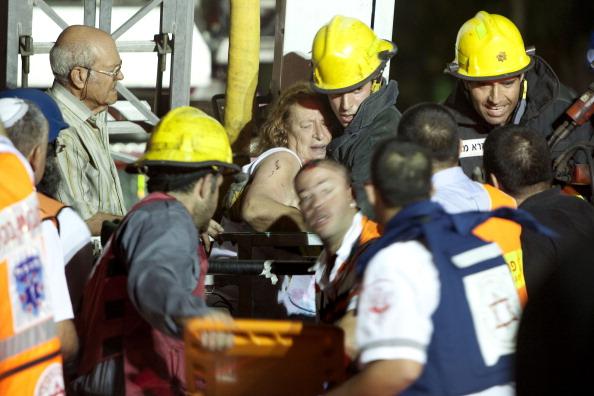 В Натании произошел взрыв. Фото: Uriel Sinai/Getty Images