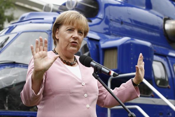 Фоторепортаж о дне открытых дверей в  Бундесканцелярии Германии. Фото: Andreas Rentz/Getty Images