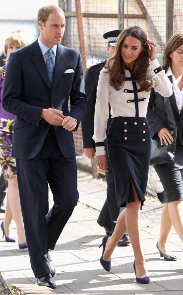 Фоторепортаж о герцоге и герцогине Кембриджских Уильяме и Кэтрин, посетивших Бирмингем. Фото:Chris Jackson/Getty Images