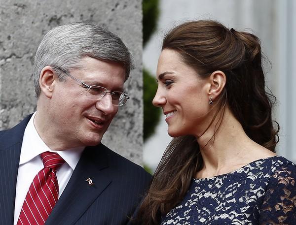 Фоторепортаж о первом дне канадского тура герцога и герцогини Кембриджских Уильяма и Кетриню Фото: John Stillwell-Pool/Getty Images