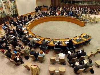 Вето на резолюцию СовБеза ООН по Сирии наложили Россия и Китай. Фото с newsru.com
