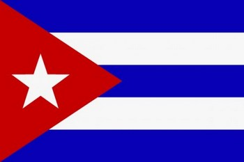 Флаг Республики Куба.