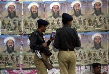 Убит Усама бен Ладен, лидер террористической группировки «Аль-Каиды». Фото: Brendan Smialowski-Pool /Getty Images