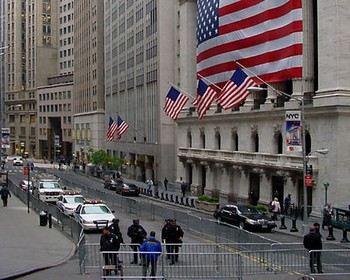 Нью-Йоркская фондовая биржа. Фото: wikipedia.org