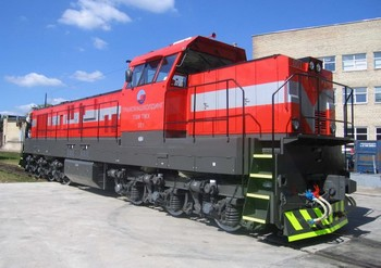 Маневровый локомотив серии ТЭМ ТМХ. Фото: tmholding.ru
