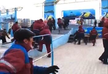 Массовые беспорядки в Жанаозене. Фото с ridus.ru