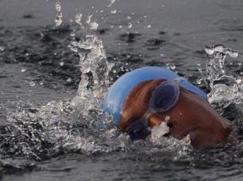 61-летняя американка отправилась вплавь из Кубы во Флориду-Кис. Фото: DAPD
