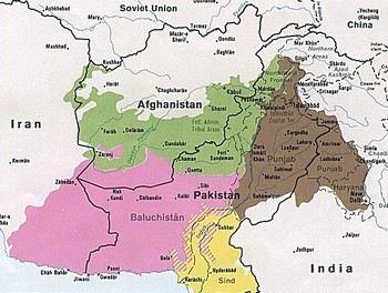 Пакистанская провинция Белуджистан является родиной многих боевиков исламского движения «Талибан». Фото: wikipedia.org