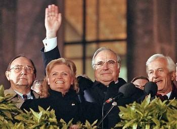 3 октября 1990 – первый день немецкого единства. Фото: focus.de