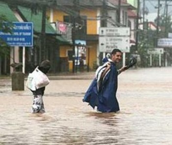 В Таиланде ливневые дожди не прекращаются. Фото с reporter-ua.com