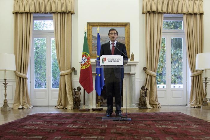 Премьер-министр Португалии Пассос Коэльо. Фото: HENRIQUES DA CUNHA/AFP/Getty Images