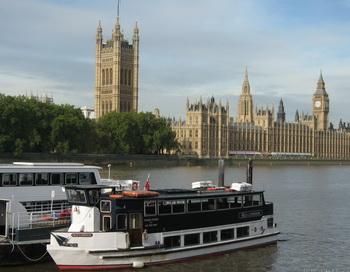 Англия Лондон - фото реки Темза. Фото: fotoart.org.ua