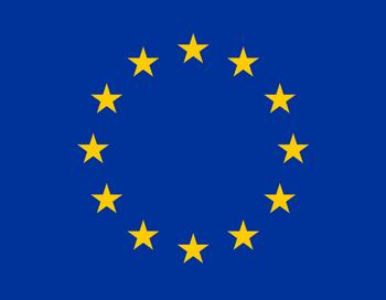 Флаг Европейской Комиссии (ЕС). Фото: ru.wikipedia.org
