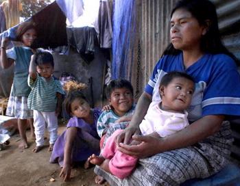 Один из бедных кватралов Гватемалы. Фото: DAVID HERRERA/AFP/Getty Images