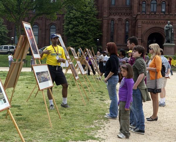Празднование Всемирного Дня Фалунь Дафа. Вашингтон, США. Фото: The Epoch Times