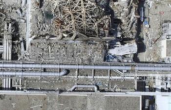 Пенсионеры ликвидируют последствия аварии на АЭС «Фукусима-1». Фото с focus.ua