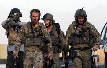 В Кабуле в ночь с 28 на 29 июня совершено  вооруженное нападение на отель «Интерконтиненталь». . Фото: PEDRO UGARTE/AFP/Getty Images