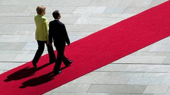 Ангела Меркель указала на ущемление прав человека в Китае. Фото с focus.de/politik