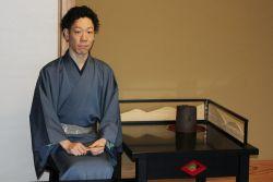 Уэда Соукоу, новый мастер школы чайной церемонии Уэда Соко в 17-м поколении. Фото: Tian Hui/The Epoch Times