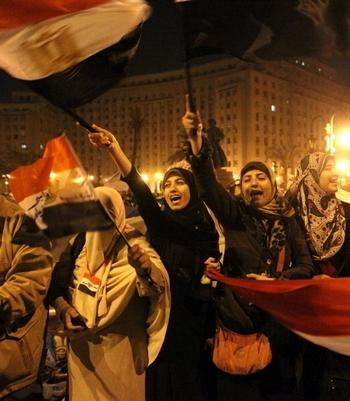 В Египте участниц общественных протестов принуждают к «проверкам на девственность». Фото: KHALED DESOUKI/AFP/Getty Images