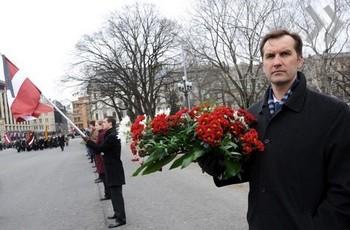 25 марта Латвия скорбела по жертвам коммунистического геноцид. Фото с telegraf.lv