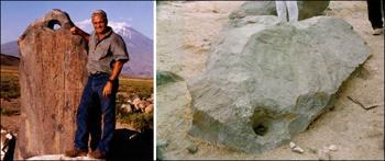 Каменный якорь, обнаруженный экспедицией Уайта. Фото: mail.ru