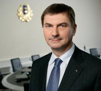 Премьер-министр Эстонии Андрус Ансип. Фото с сайта  valitsus.ee