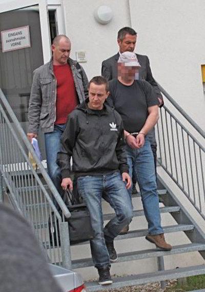 «Грабитель-Обама» задержан австрийской полицией. Фото с сайта nachrichten.at