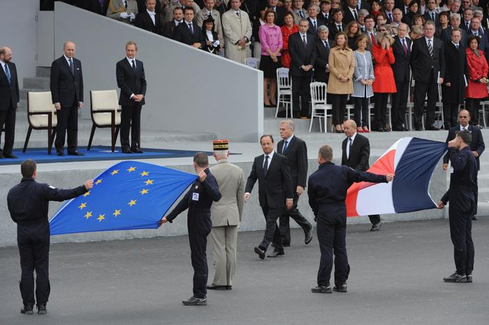 Франция отметила национальный праздник — День взятия Бастилии. Фото: Antoine Antoniol/Getty Images
