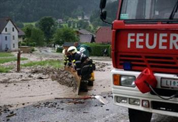 Сильная непогода в Австрии: жители некоторых районов эвакуированы. Фото: derstandard.at