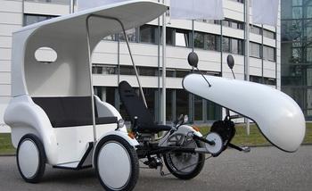 Водородная рикша Гидрогения будет представлена в Дрездене 23 июня 2012 г. Фото: epochtimes.de