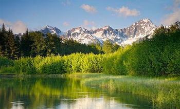 На Аляске. Фото с сайта  moya-planeta.com