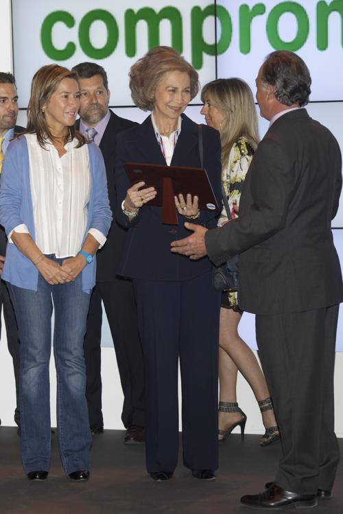 Королева Испании София  приняла участие в  выставке домашних животных Pets Fair 2012. Фоторепортаж. Фото: Carlos Alvarez/Getty Images