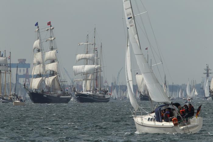 Парад парусных судов  в Киле. Фоторепортаж. Фото: Sean Gallup/Getty Images