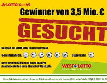 В Германии разыскивается выигравший 3,5 миллионов евро. Фото с сайта  stern.de