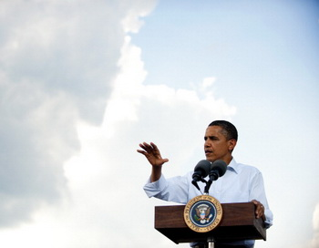 Барак Обама  намерен арестовать  все активы властей Сирии. Фото: JIM WATSON/AFP/Getty Images