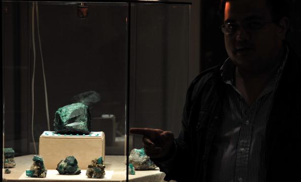 Фоторепортаж с международной выставки минералов в Колумбии. Фото: GUILLERMO LEGARIA/AFP/Getty Images