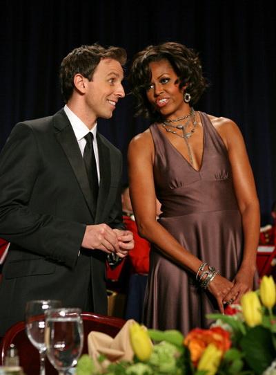 В Вашингтоне прошел ежегодный ужин Ассоциации корреспондентов Белого дома. Фото: Martin H. Simon-Pool/Getty Images