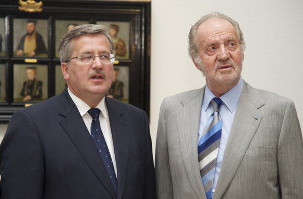 Фоторепортаж о посещении королем  Испании Хуаном Карлосом и королевой  Софией открытия художественной выставки. Фото: Carlos Alvarez/Getty Images