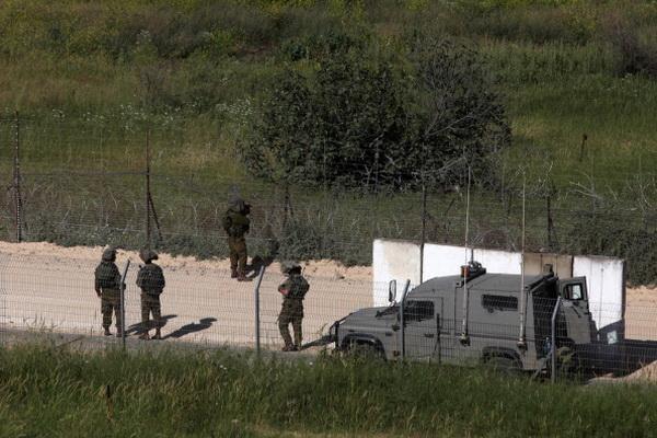 Фоторепортаж об усилении контроля на границе между Израилем и Сирией. Фото: Lior Mizrahi/Getty Images