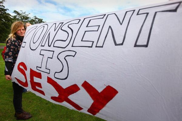 Фоторепортаж об акции протеста «Шлюхоход» против нарушения прав женщин в Шотландии. Фото: Jeff J Mitchell/Getty Images