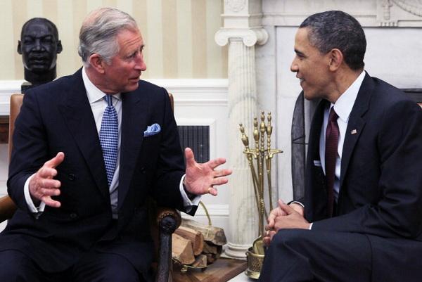 Фоторепортаж о встрече президента США Барака Обамы и принца Чарльза в Белом доме. Фото: Alex Wong/Getty Images