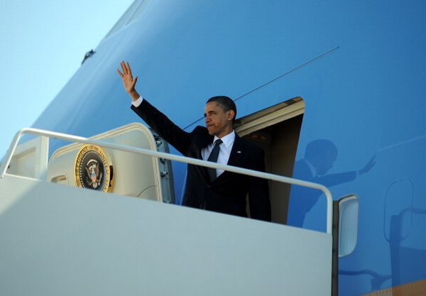 Фоторепортаж с церемонии возложении венков памяти жертв терактов 11 сентября с Бараком Обама. Фото: Mario Tama/Getty Images