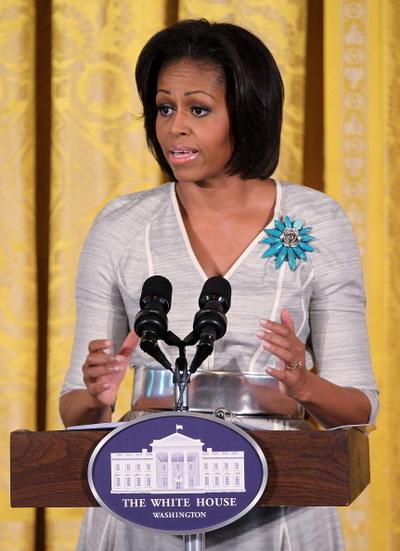 Фоторепортаж о празднике Дне матери с Мишель Обамой и Джилл Байден в Белом доме. Фото: Alex Wong/Getty Images