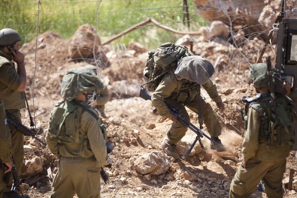 Фоторепортаж о решении правительства Израиля усилить охрану на границе в Голанских высотах. Фото: Uriel Sinai/Getty Images