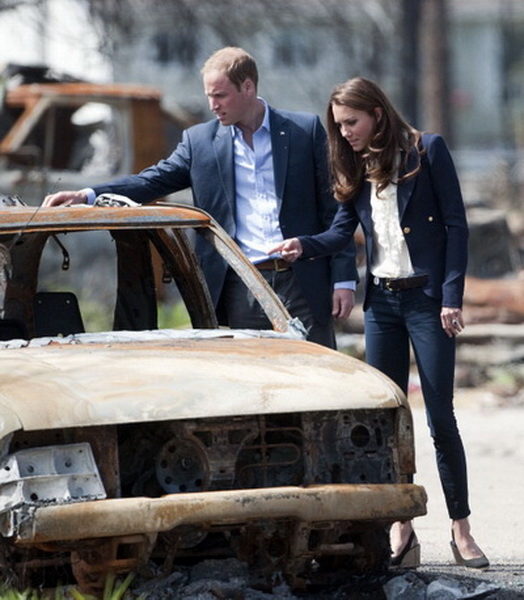 Фоторепортаж о седьмом дне канадского тура принца Уильяма и леди Кэтрин. Фото: TIMOTHY A. CLARY/AFP/Getty Images