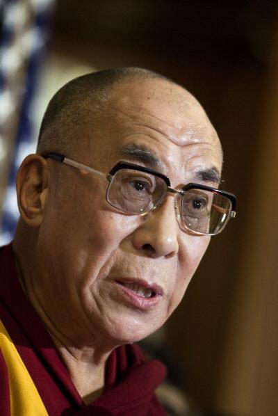 Фоторепортаж о встрече Далай-ламы с членами Палаты представителей в Капитолии. Фото: Jasper Juinen/Getty Images