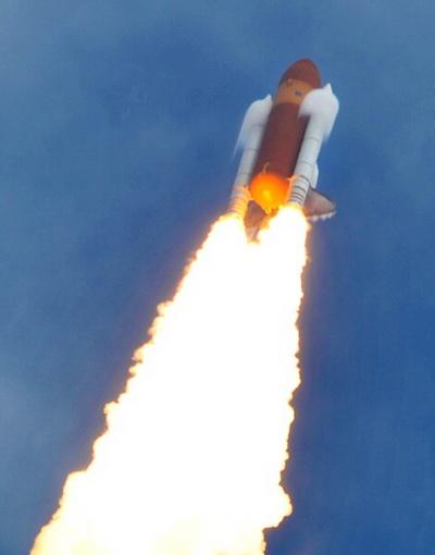 Фоторепортаж о запуске Atlantis на мысе Канаверал. Фото: Chip Somodevilla/Getty Images