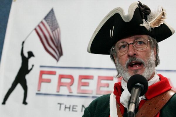 Фоторепортаж с пресс-конференции Чайной партии в Вашингтоне. Фото: Mark Wilson/Getty Images