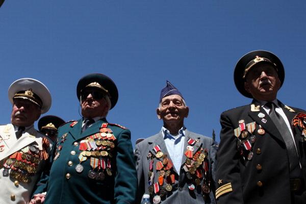 Фоторепортаж о праздновании Дня ветеранов в Иерусалиме. Фото: Uriel Sinai/Getty Images